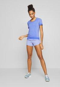 Nike Performance - ECLIPSE SHORT  - Urheilushortsit - light thistle/reflective silver - 1