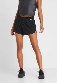 Nike Performance - ECLIPSE SHORT  - kurze Sporthose - black/reflective silver - 0