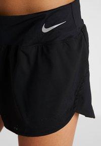 Nike Performance - ECLIPSE SHORT  - kurze Sporthose - black/reflective silver - 4