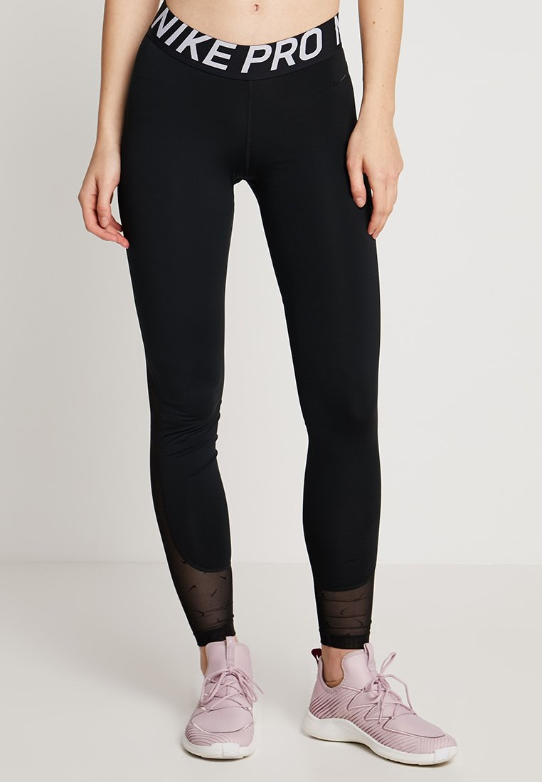 Nike Performance - Legging - black/white