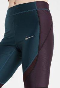 Nike Performance - SPEED - Leggings - nightshade/black/reflective silver - 5