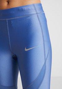 Nike Performance - SPEED - Legging - indigo storm/reflective silver - 3