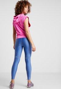 Nike Performance - SPEED - Legging - indigo storm/reflective silver - 2