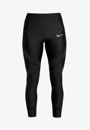 SPEED - Legginsy - black/reflective silver