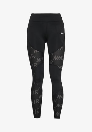 AIR - Legginsy - black/white