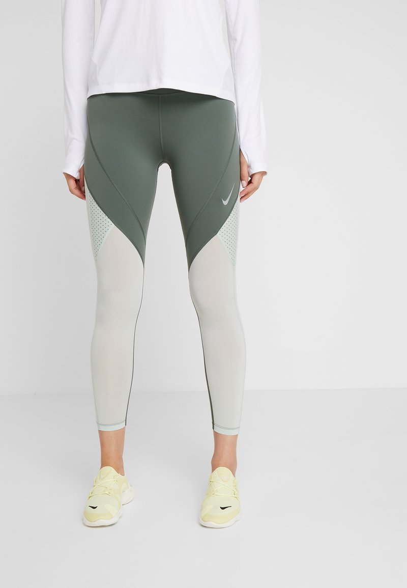 Nike Performance - EPIC LUX  - Leggings - juniper fog/pistachio frost/reflective silver