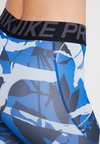 Nike Performance - FOREST CAMO CROP - Trikoot - indigo force/thunder grey/black