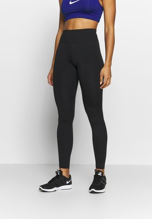 W NIKE ONE LUXE TIGHT - Tights - black
