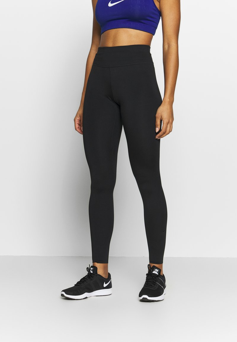Nike Performance - W NIKE ONE LUXE TIGHT - Tights - black