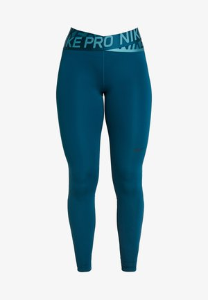 INTERTWIST 2.0 - Tights - midnight turquoise/black
