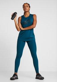 Nike Performance - INTERTWIST 2.0 - Leggings - midnight turquoise/black - 1