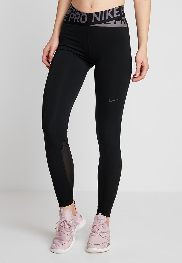 Nike Performance INTERTWIST 2.0 - Legginsy - black/thunder grey