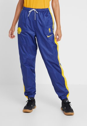 NBA GOLDEN STATE WARRIORS WOMENS SNAP PANT - Tygbyxor - rush blue/amarillo