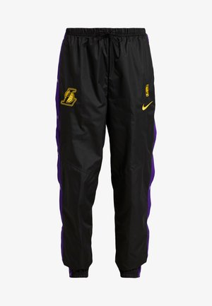 NBA LA LAKERS WOMENS SNAP PANT - Vereinsmannschaften - black/field purple