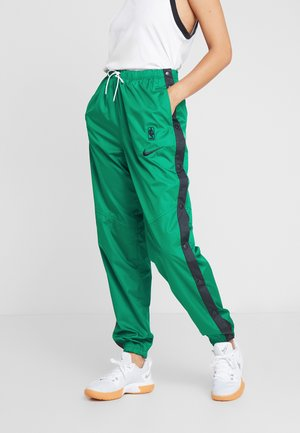 NBA BOSTON CELTICS WOMENS SNAP PANT - Pantalon de survêtement - clover/black