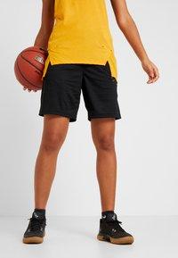 Nike Performance - NIKE DRI-FIT DAMEN-BASKETBALLSHORTS - Sports shorts - black/anthracite - 0