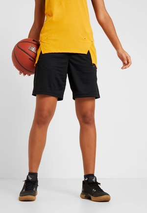 DRY SHORT ESSENTIAL - Korte broeken - black/anthracite