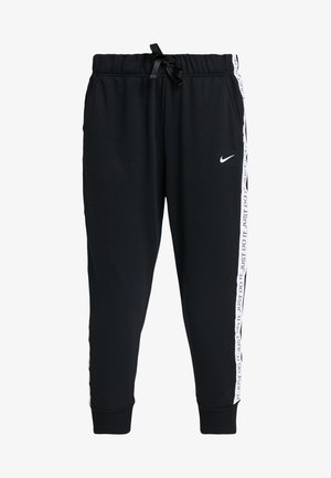 DRY GET FIT - Tracksuit bottoms - black/white