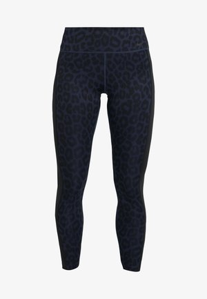 ONE 7/8 - Legginsy - midnight navy/black/white