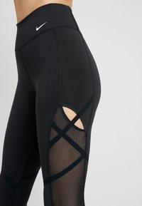 Nike Performance - ONE REBEL 7/8  - Collant - black/white - 3