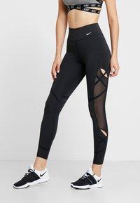 Nike Performance - ONE REBEL 7/8  - Collant - black/white - 0