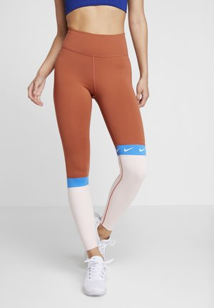 ONE - Legging - dusty peach/echo pink/photo blue/white