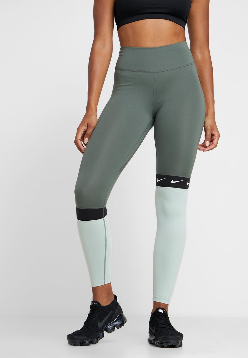 Nike Performance - ONE - Collant - juniper fog/pistachio frost/black/white