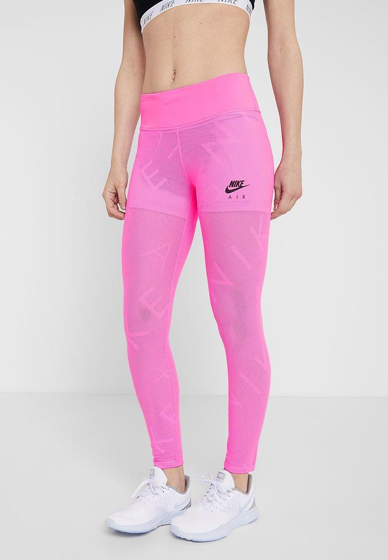 Nike Performance - AIR - Leggings - china rose/black