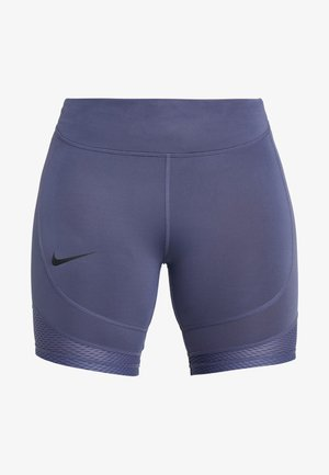 BIKE SHORT AIR - Medias - sanded purple/black
