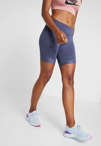 Nike Performance - BIKE SHORT AIR - Leggings - sanded purple/black - 0