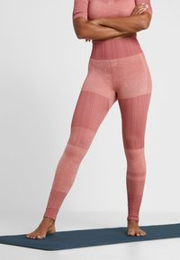 Nike Performance - CITY - Tights - pink quartz/cedar/silver - 0