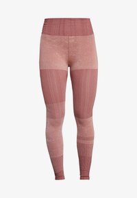 Nike Performance - CITY - Tights - pink quartz/cedar/silver - 5