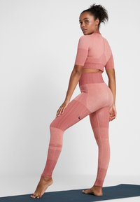 Nike Performance - CITY - Tights - pink quartz/cedar/silver - 2