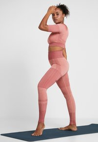 Nike Performance - CITY - Tights - pink quartz/cedar/silver - 1