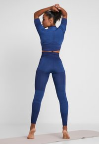 Nike Performance - CITY - Medias - blackened blue/coastal blue - 2
