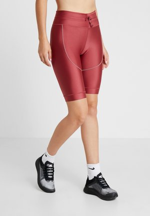 CITY SHORT - Tights - cedar/reflect black