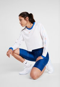 Nike Performance - CITY SHORT - Tights - coastal blue/black - 1