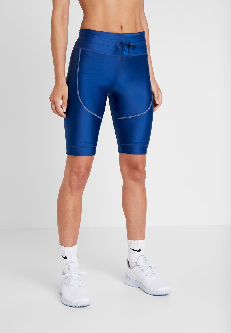 Nike Performance - CITY SHORT - Tights - coastal blue/black