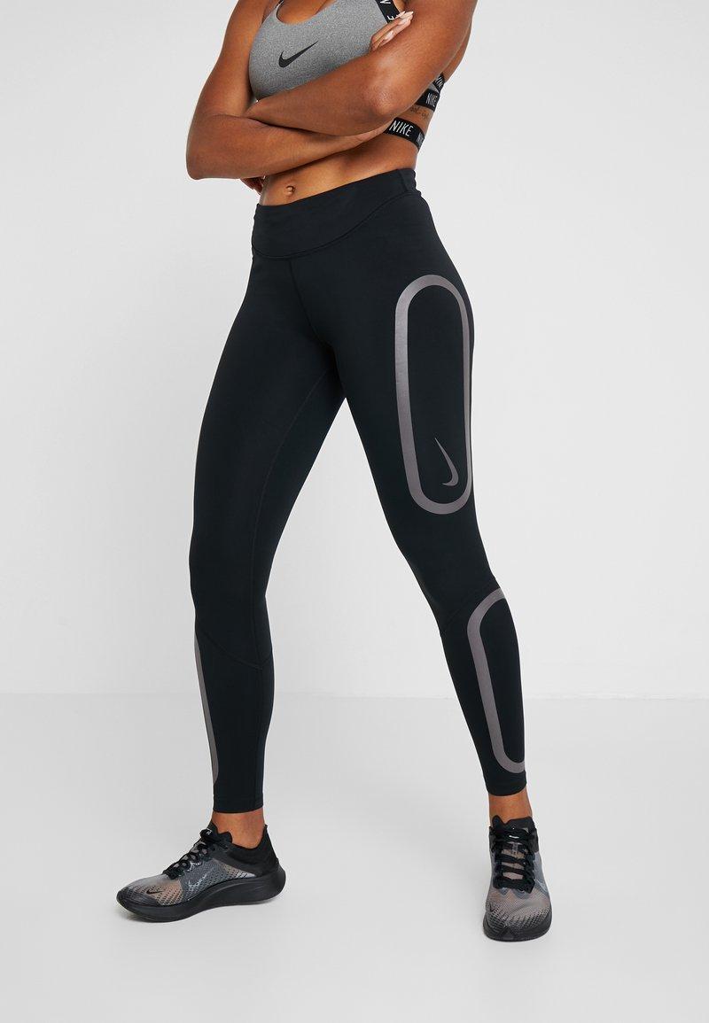 Nike Performance - EPIC AIR - Tights - black/thunder grey