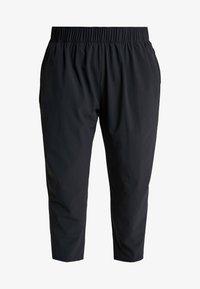 Nike Performance - PANT PLUS - Tracksuit bottoms - black/reflective silver - 4