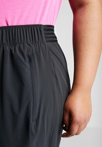 Nike Performance - PANT PLUS - Tracksuit bottoms - black/reflective silver - 5