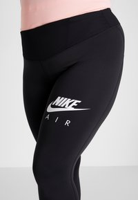Nike Performance - FAST AIR PLUS - Legging - black/white - 3