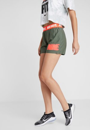 REBEL SHORT  - Sports shorts - juniper fog/white/bright crimson