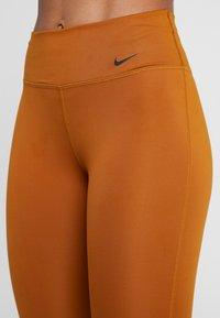 Nike Performance - REBEL ONE - Leggings - burnt sienna/black - 5
