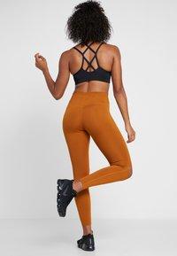 Nike Performance - REBEL ONE - Leggings - burnt sienna/black - 2