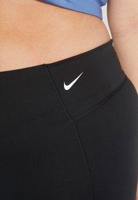 Nike Performance - SCULPT PLUS - Tights - black/white - 4