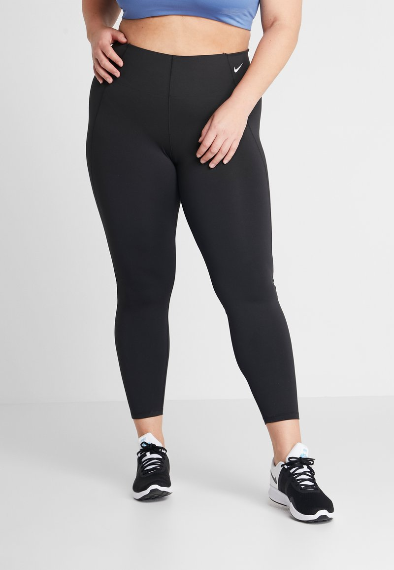 Nike Performance - SCULPT PLUS - Leggings - black/white