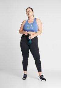 Nike Performance - SCULPT PLUS - Tights - black/white - 1