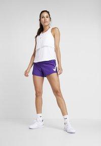 Nike Performance - RUN SHORT - Pantalón corto de deporte - court purple/white - 1