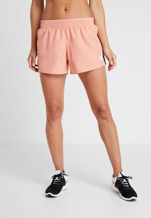 RUN SHORT - Korte broeken - pink quartz/white